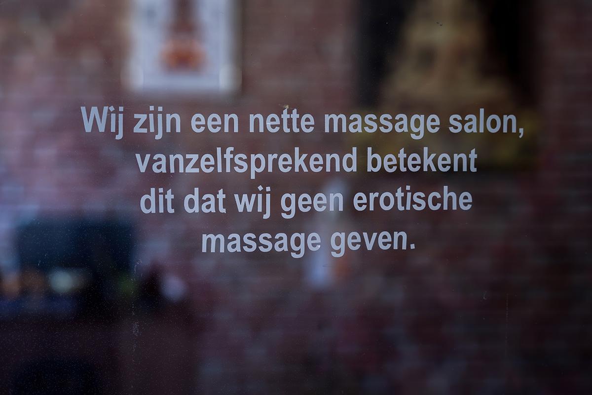 Wij zijn een nette massage salon